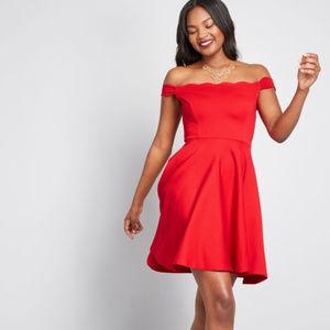 NWOT Forever Fave Off-Shoulder Dress